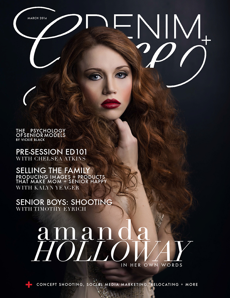 Amanda Holloway Cover Photographer for Denim and Grace