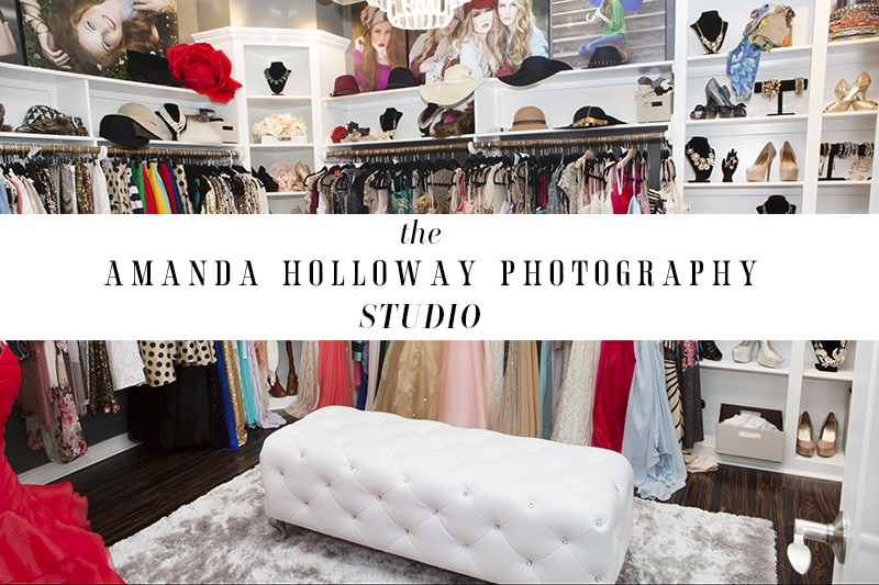 Amanda Holloway Photography Couture Closet and Studio
